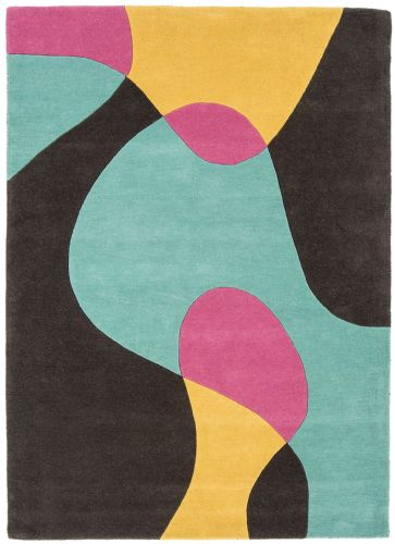 Matrix 100% Pure Wool MAX52 Arc Bubblegum Rug